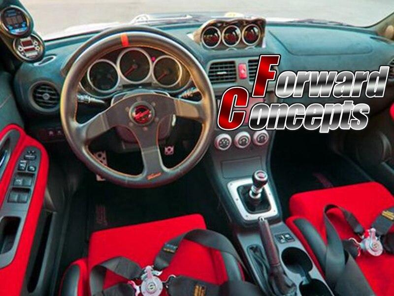 Для углеродного волокна 2002 2007 IMPREZA GDA GDB GG WRX STI 60 мм тройной метр GAUGE POD