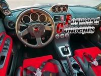 Для углеродного волокна 2002 2007 Impreza GDA GDB GG WRX STI 60 мм Трехместный метр колеи Pod