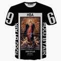 2016 хип-хоп мода футболка женщины мужчины 3d hba/wiz khalifa/симпсон печати футболки бренда crossfit футболка homme camisetas hombre