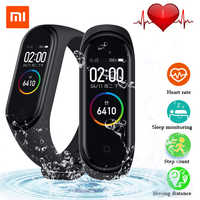 2019 Original Xiaomi Mi Band 4 Smart Wristband 3 Color AMOLED Screen Mi Band 4 Global version Heart Rate Fitness Music Bracelet