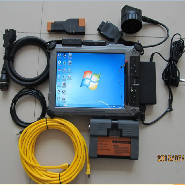 Flash Promo Professional for bmw icom a2 auto scanner icom a2 b c 3 in 1 +xplore ix104 c5 tablet (i7, 4g) +Software 2018.03 ssd ISIS ISID