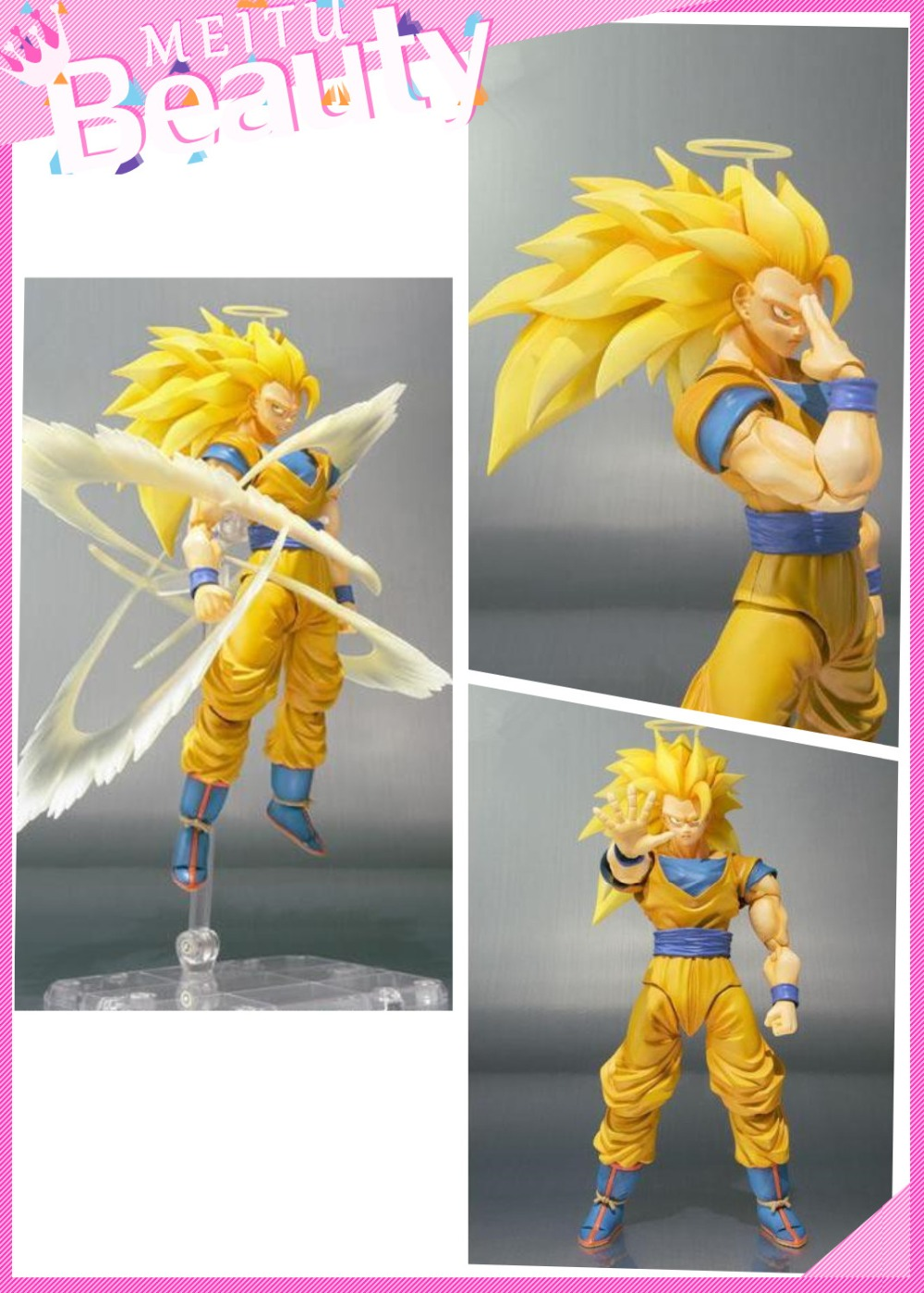 NEW Dragonball Toys Dragon Ball Z Action Figures Goku Figuarts Super Saiyan 3 Anime Figure Brinquedos Kid Toy Free Shipping rick owens lilies свитер