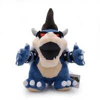 """11 """"Super Mario 3D Land Knochen Kuba Drachen Dark Bowser Plüsch Spielzeug Bolster Cartoon Plüsch Weiche Angefüllte Puppen Trockenen knochen Bowser Koopa"""