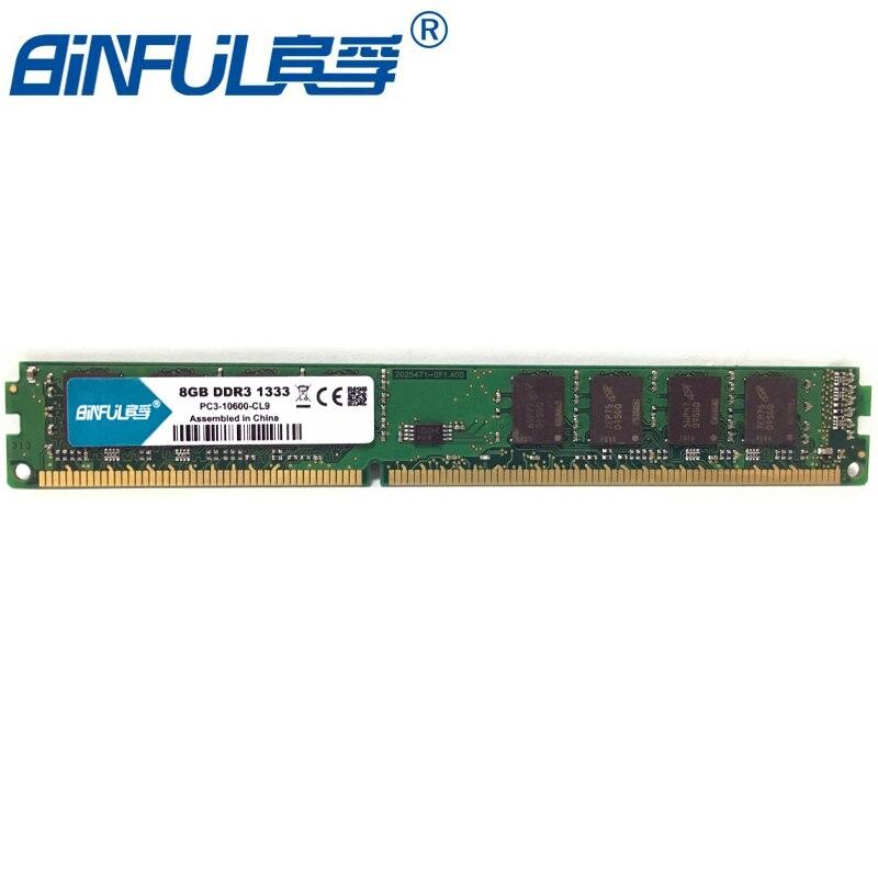 все цены на PC Memory RAM Memoria Module Computer Desktop 8GB PC3 DDR3 12800 10600 1333MHZ 1600MHZ 8G 1333 1600 MHZ RAM онлайн