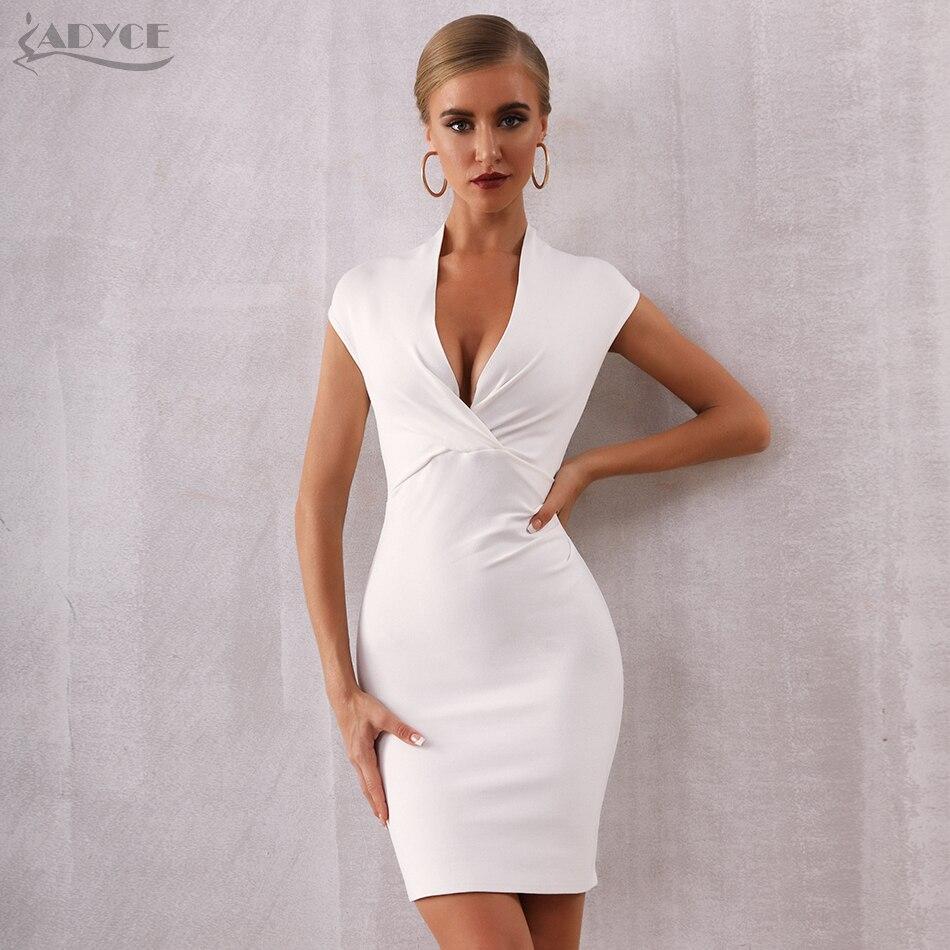 White Sexy Dress Celebrity