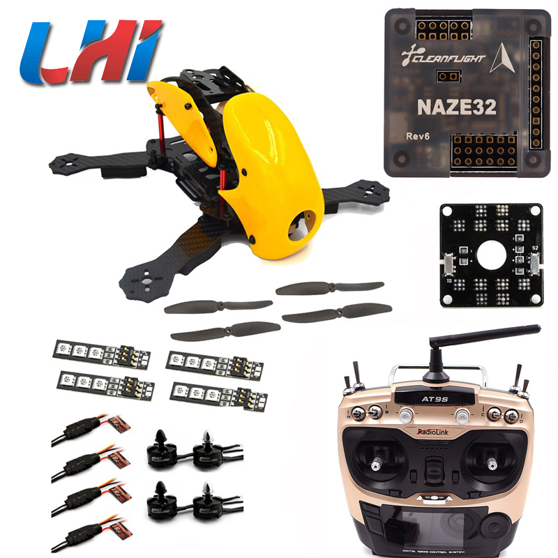 Robocat 270mm 4 Axis Carbon Fiber Quadcopter Frame NAZE REV6 Flight Control LHI 2204 Motor 12A ESC props  RC01 carbon fiber diy mini drone 220mm quadcopter frame for qav r 220 f3 flight controller lhi dx2205 2300kv motor