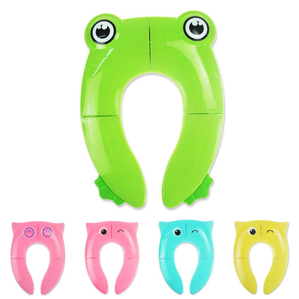 Kidlove Travel Folding Potty Seat Pad Portable Baby Toddler Toilet Training Seat Cover Cushion Children Pot Chair Pad