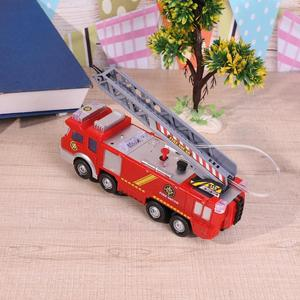 Image 3 - New Style Water Spray Fire Engine Car Toy Electric Fire Truck Children Educational Vehicle Toy for Boy High Quality Gifts