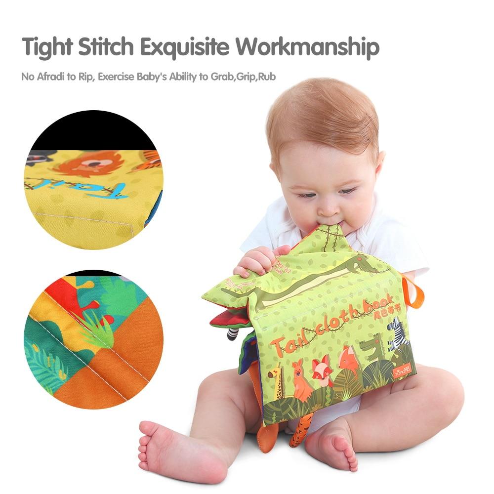 Tumama bebe zveckaju mobiteli igračka mekani repovi životinja - Igračke za bebe i malu djecu - Foto 4