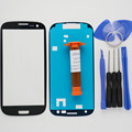 Outer glass for samsung galaxy S3 SIII i9300 LCD Touch Screen Digitizer Front Glass Lens & LOCA UV glue & Tools & adhesive
