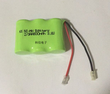 MasterFire 20pcs/lot Original Ni-MH 2/3AA 3.6V 800mAh Rechargeable Battery Pack With Plugs For Cordless Phone