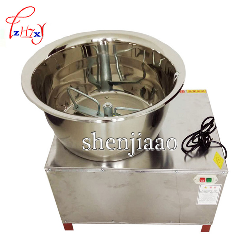 HMP 30 Commercial Automatic Dough Mixer 30kg stainless steel Mixer Stirring Mixer the Pasta Machine Dough Kneading  220V/110V Food Processors     - title=