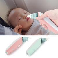Silicone Baby Nasal Aspirator Safe Electric Nose Cleaner 2 Size Baby Care Accessory Oral Snot Sucker for Newborns Infant Kids