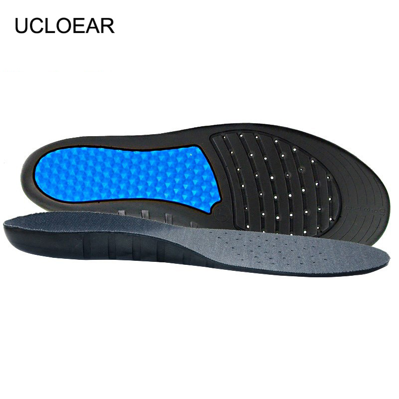 Silicone Pads For Shoes Arch Support Gel Insoles For Shoes Breathable Shock Absorbant Foot Pads Massage Sport Insole XD-069