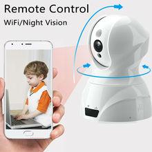 Comprar Fujikam Wifi Câmera IP Pan Tilt Night Vision HD 720 P Monitor Do Bebê de vídeo Remoto de Segurança Em Casa com Áudio em Dois sentidos App. MIPC