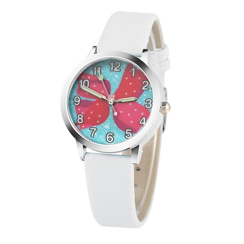 Marca de moda los niños ven los niños reloj de cuarzo chica - Relojes para niños