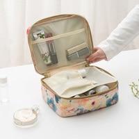 The New Printing Travel Portable Packing Multi Purpose Storage Fashion Home Cosmetic Bag Wash Bag Bathroom