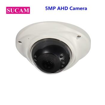 Mini Fish Eye 5MP Camera AHD Sony 326 High Definition Infrared Dome Security Analog CCTV Camera 1.7mm 2.8mm 3.6mm 6mm lens elp 5mp 2592 x 1944 high defination aptina mi5100 hd mjpeg 3 6mm lens high speed mini cmos usb camera module android linux