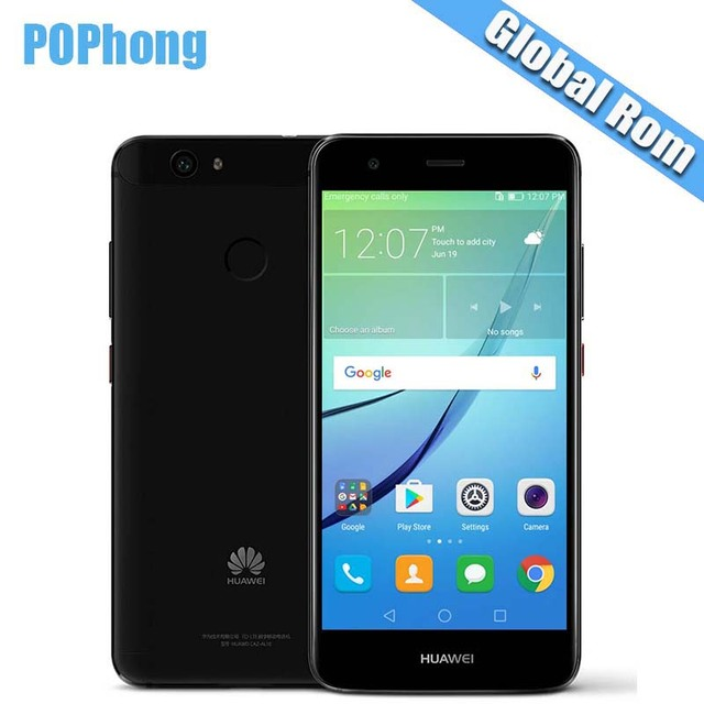 International Firmware Huawei Nova Cell Phone 4G LTE 4GB RAM 64GB ROM MSM8953 Octa Core Dual SIM P