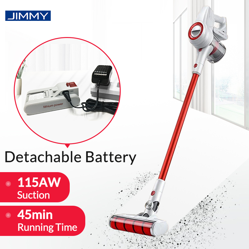 xiaomi jimmy jv51 handheld cordless vacuum cleaner portable wireless cyclone filter 115aw. Black Bedroom Furniture Sets. Home Design Ideas