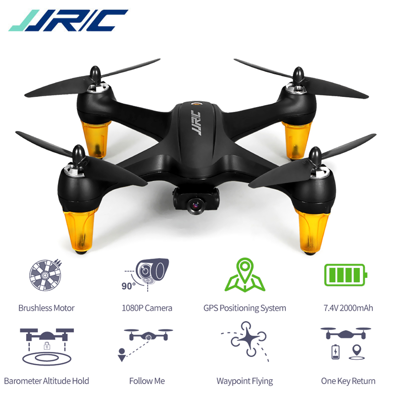 JJRC X3P Brushless Motor GPS Quadcopter Drone with 1080P Camera FPV Helicopter Toys One Key Return Follow Me Waypoint FlightJJRC X3P Brushless Motor GPS Quadcopter Drone with 1080P Camera FPV Helicopter Toys One Key Return Follow Me Waypoint Flight