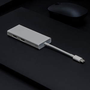 Image 4 - Original Xiaomi USB C to Mini DP Display Port Multi Functional Charger Extender 4K/60Hz PD3.0 65W Max Data Transfer Hub