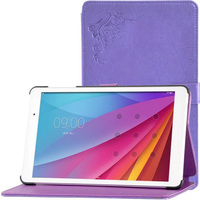 Ultra Slim Printing Pattern Folio Stand Prints Flower Leather Case Cover For Huawei Mediapad Yougth M2