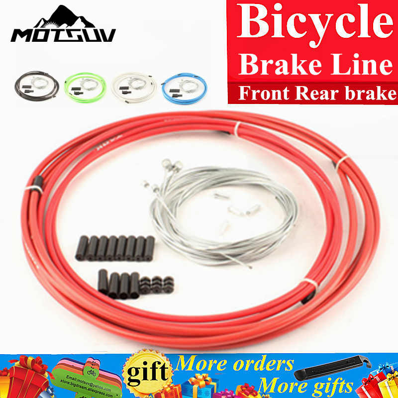 Dòng Phanh xe đạp Nhà Ở Cable Hose Kit Phanh Shifter Cho Sram Xe Đạp Xe Đạp derailleur Phanh Cable & Chuyển Lever Dây dòng