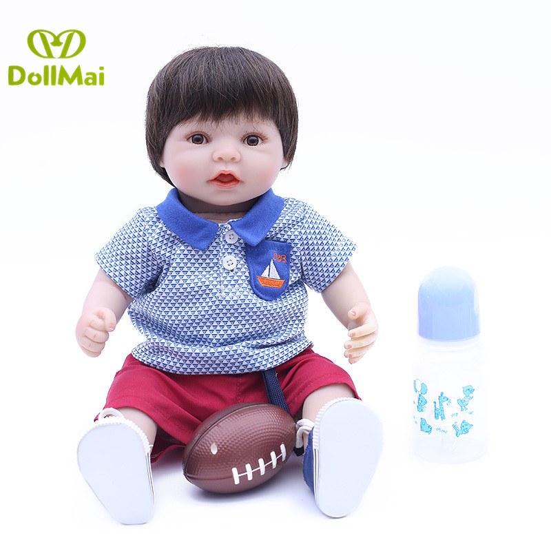 Real Baby reborn boy dolls 40cm silicone reborn baby dolls for girls child gift toys Bebes reborn menino bonecasReal Baby reborn boy dolls 40cm silicone reborn baby dolls for girls child gift toys Bebes reborn menino bonecas