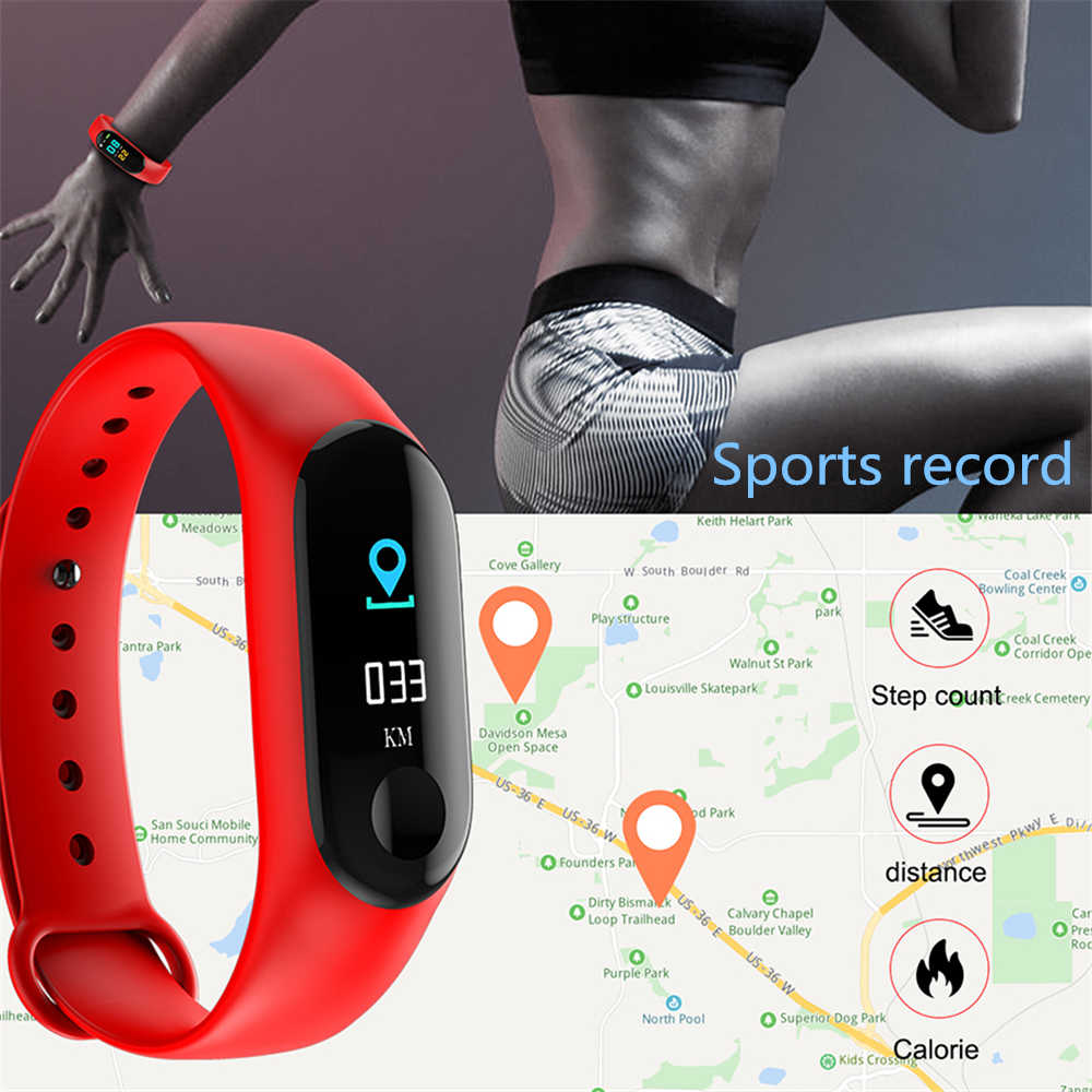 5f6ab9cda46ad1 ... M3 Pro Smart Band Waterproof Fitness Tracker VS M3 Plus Smart Bracelet  Blood Pressure Heart Rate ...