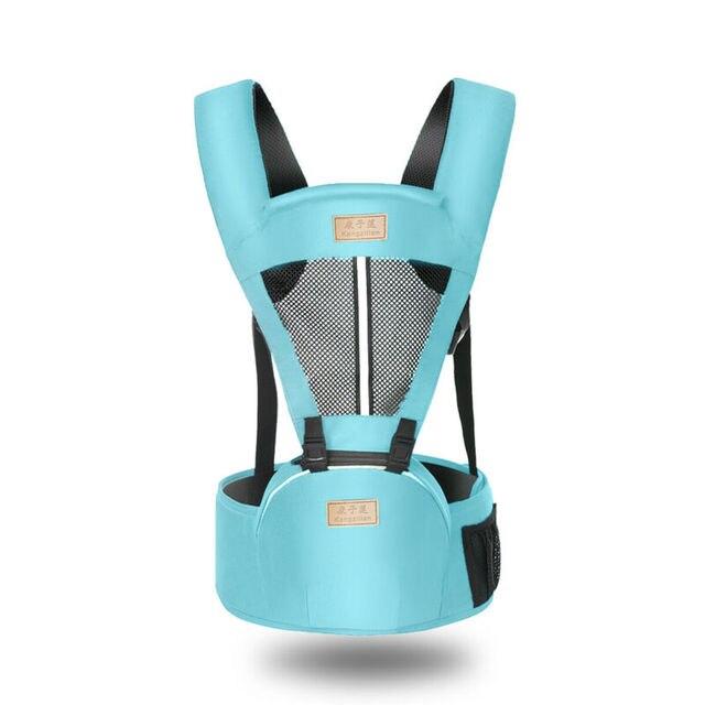 Hot Newborn Infant Baby Carrier Solid Traspirante Ergonomico Regolabile Wrap Sling petto canguro Zaino 0-4 Anni 6