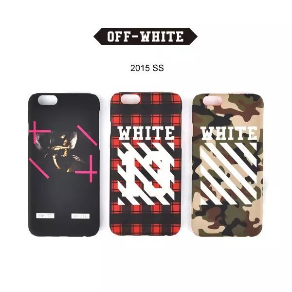finest selection 938a1 f789a US $7.48 |Luxury fashion brand off white phone case for iphone 6 4.7 inch  pc back cover for iphone 6 plus 13 number free shipping on Aliexpress.com |  ...