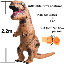 inflatable dinosaur costume cosplay costume inflatable Halloween cosplay Carnival Christmas t-rex dinosaur costume child adults