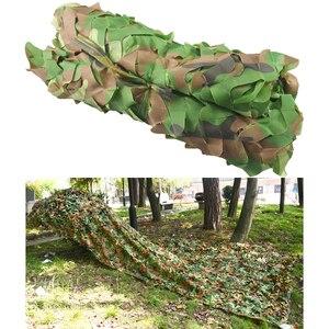 Image 2 - Kostenloser Versand Camouflage Net Camo 2*3M Sun Shelter Dschungel Jalousien Auto abdeckungen Für Jagd Camping Militär outdoor