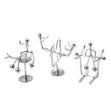 Pendulum Metal Decor Home Decoration Accessories Cradle New Balance Men Iron Man Ball Crafts Tumbler Desk Toy
