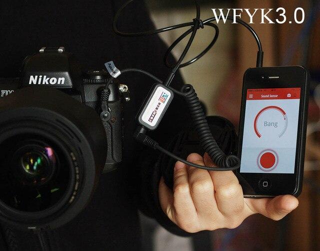 Время киносъемки Спуска затвора Пульт Дистанционного Управления Кабель Triggertrap Ioshutter Для Цифровой Камеры DSLR