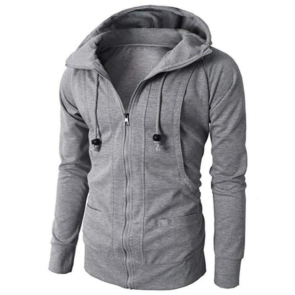Zipper Hoodie Pullover  3
