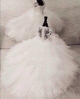 Платье с цветочным узором для девочек на свадьбу с кружевом и жемчугом на высоком каблуке с аппликацией Многоярусное детское праздничное п