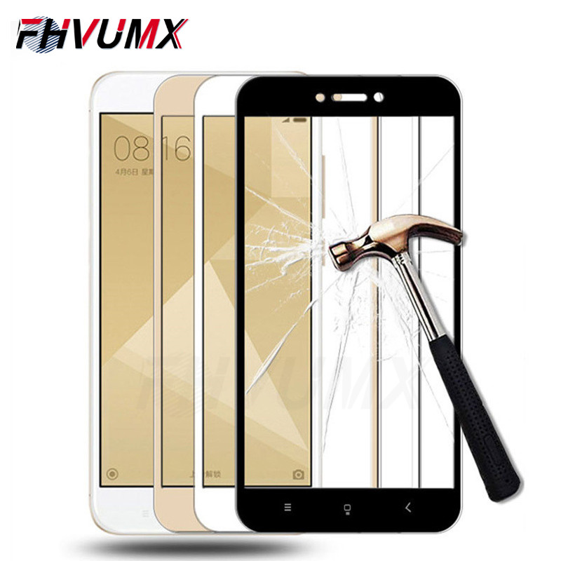 Protective Glass On The For Xiaomi Redmi 4A 4X 5A 5 Plus S2 Redmi Note 4 4X 5A 5 Pro Tempered Glass Screen Protector Film Case