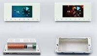 Hd панель 5 7 дюймов светодиодный ЖК дисплей tft 1080 дисплей настенный усилитель p wifi 4 г bluetooth в 4,3 фон музыкальный хост