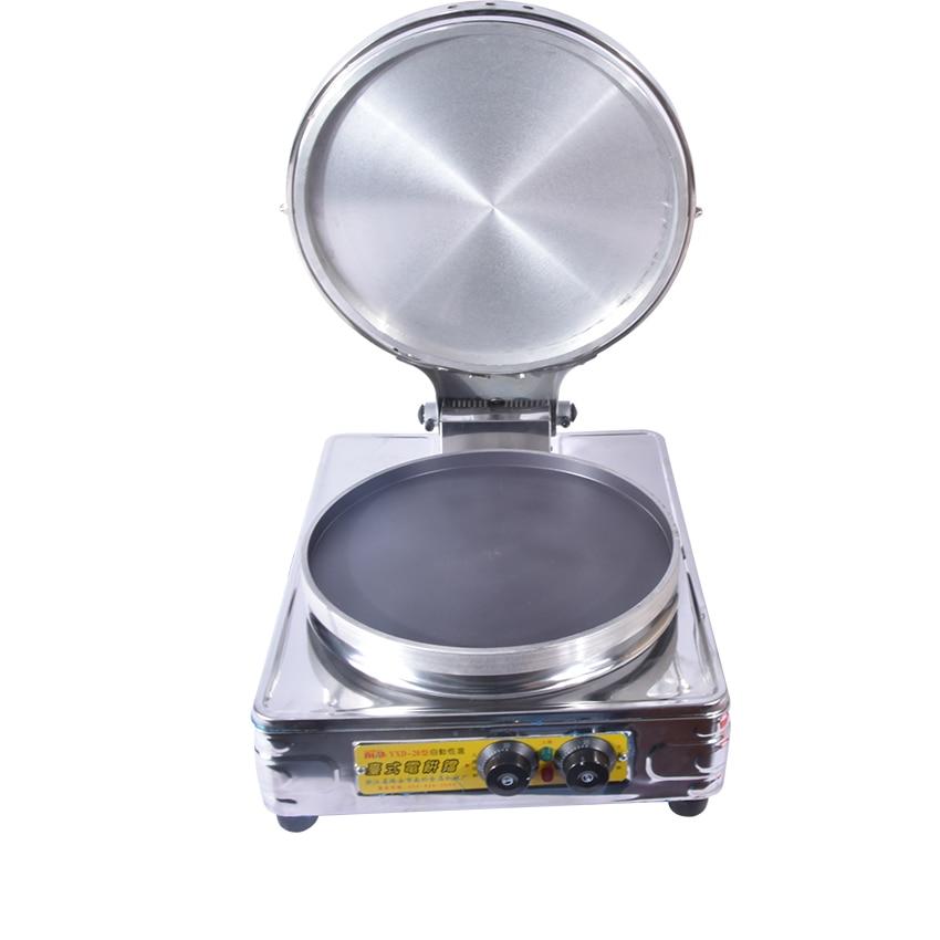 1PC Commercial Electric Pancake Scones Naan Bread Maker Machine Winonstick Aluminum Pan diameter 37.7cm Hot 1pcs new arrival 40cm pan pancake griddle stove lpg commercial pancake machine pancake stove ship to your home