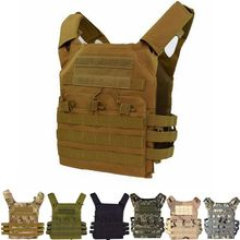 Military Equipment Tactical Vest MOLLE JPC Vest Body Armor Plate Carrier Vest Chest Rig Airsoft Paintball Gear with Mag Pouches h harness chest rig plate carrier tactical vest rifle 5 56 7 62x39 single double pistol flapped gp stuff pouches hunting men