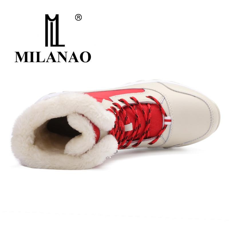 Mujeres blue Altura red 2019 Zapatos Además Nuevas Invierno Aumento Estilo Botas Nieve black Elegante Cálido White Mujer Terciopelo Las Casual De RqCwrEqS
