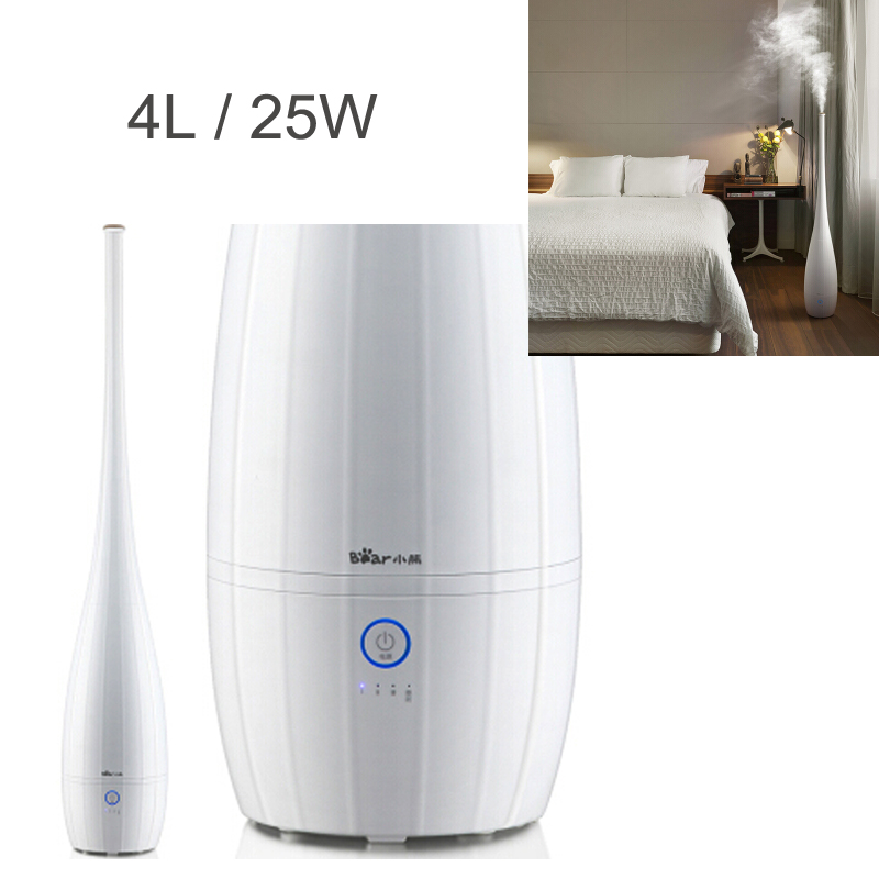15%JA103,4L 25W Air Humidifier Touch Screen Mist Maker Air Purifier Automatic Humidistat Control/Water Purification/Aromatherapy