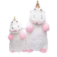 40cm And 55cm Despicable Me Fluffy Unicorn Juguetes Brinquedos Soft Stuffed Plush Toy Pillow Gift For