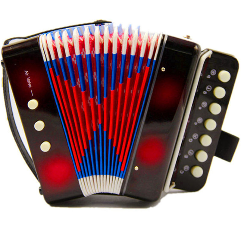 Children learning exercising type drawable Bass Accordion musical instrument educational toy Music lovers kids birthday gift