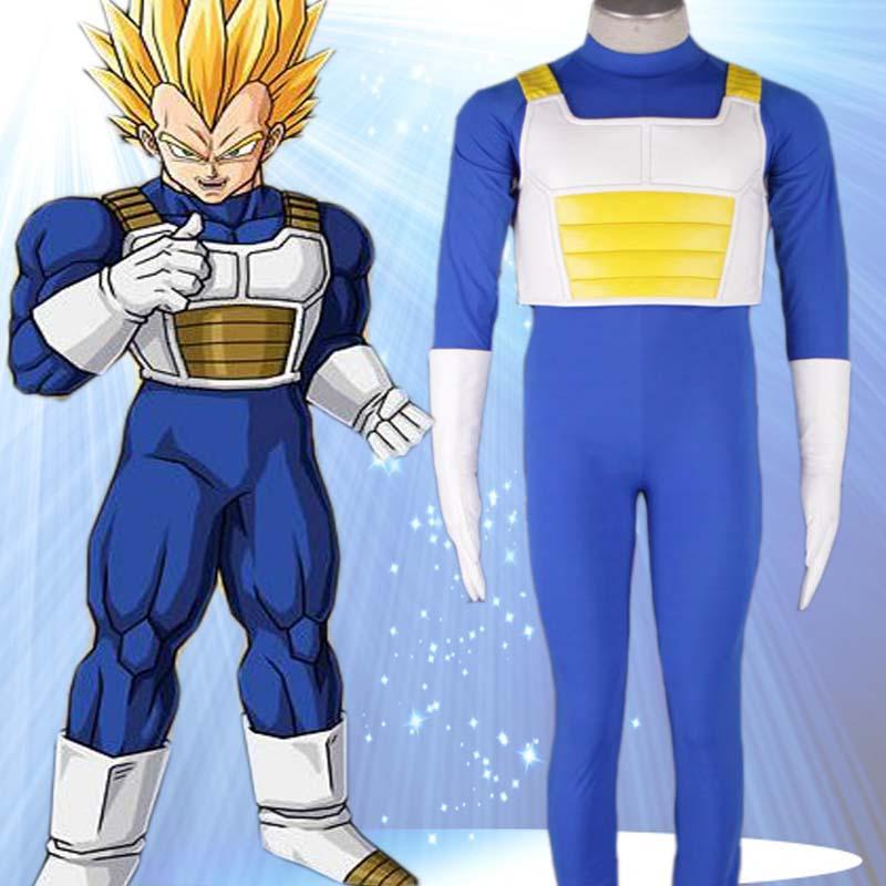 2015 Adult Disfraces Halloween Costumes for Dragon Ball Vegeta ...