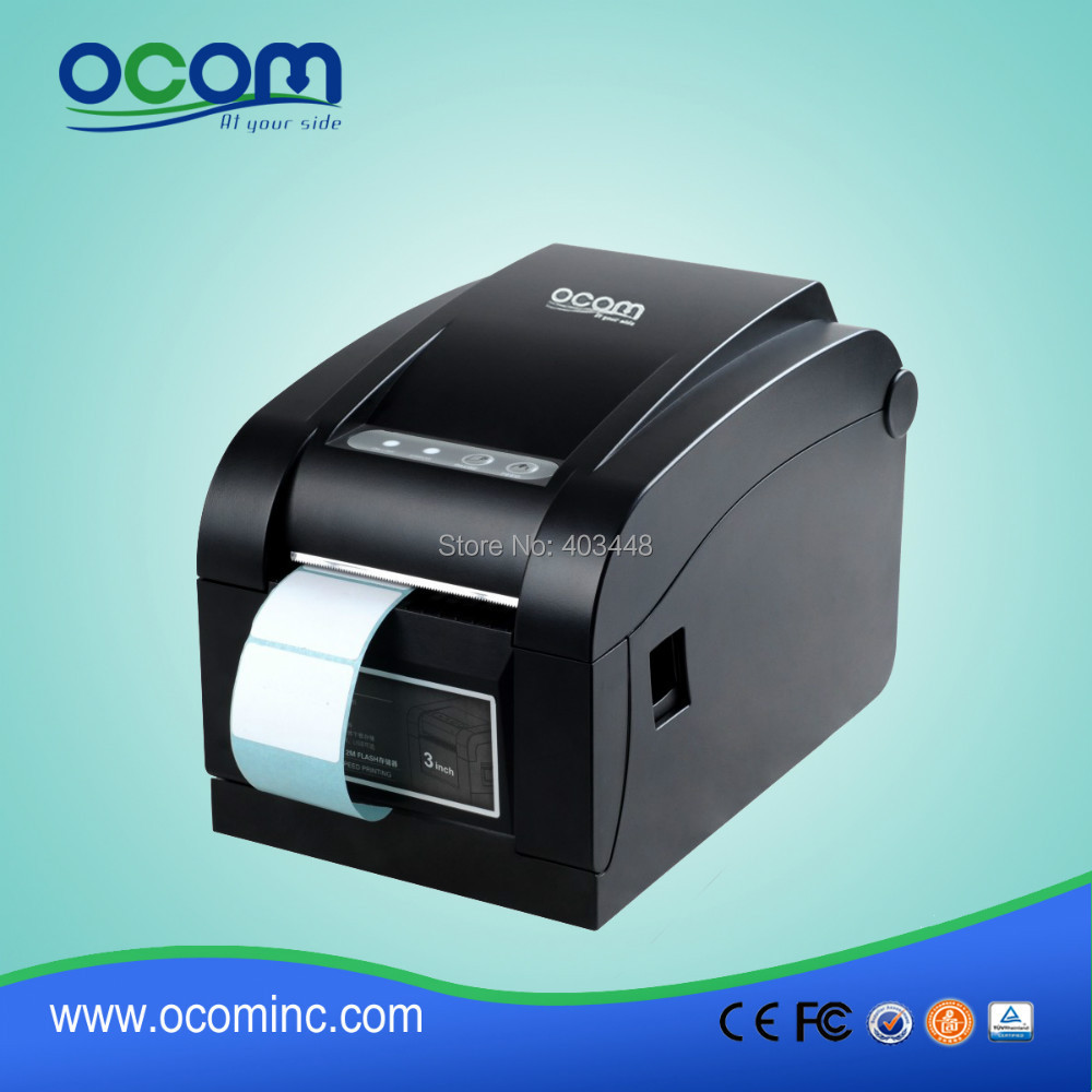 1 Color 2D Barcode Code Label Printer Bar Code Printer with Low Cost