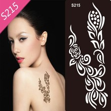 1Pcs X Airbrush Stencils Animal Series For Body Paint Temporary Tattoo Stencils,Tattoo Accesories Kit 18cmx9.5cm