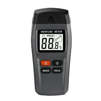 MT-15 Large-screen LCD Digital Wood Humidity Meter Wood Moisture Tester Moisture Meter Range 0~99.9% & Backlight